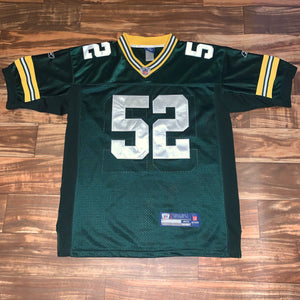 L/XL - Clay Matthews Stitched Green Bay Packers Jersey
