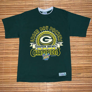 L - Vintage 1997 Packers Super Bowl XXXI Shirt