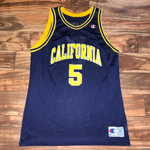 Size 48 - Vintage California Golden Bears Jason Kidd Champion Jersey
