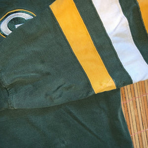 XL/XXL - Vintage Green Bay Packers Rugby Shirt