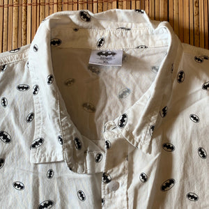 XL - Batman All Over Print Button Up Shirt