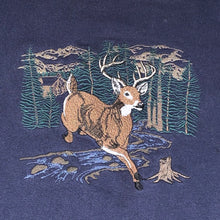Load image into Gallery viewer, L - Deer Buck Embroidered Sweater