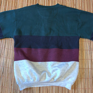 M - Arizona Sport Color Block Sweater