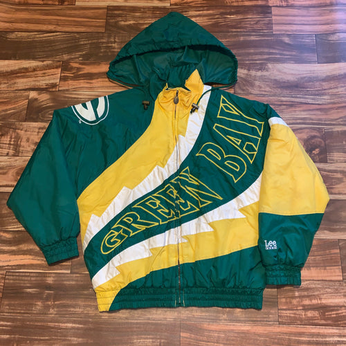 L/XL - Vintage Green Bay Packers Lee Sport Jacket