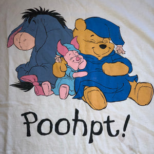 One Size - Vintage Winnie The Pooh Sleeping Shirt