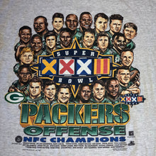 Load image into Gallery viewer, L - Vintage 1997 Packers 2-Sided Caricature Shirt