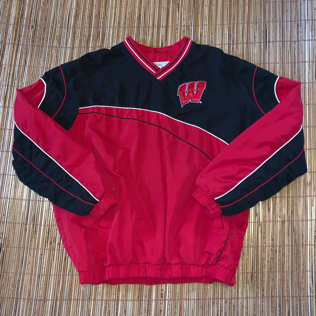 XL - Wisconsin Badgers NCAA Football Pullover
