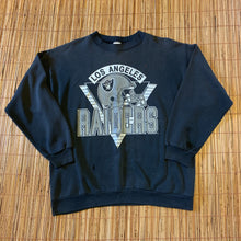 Load image into Gallery viewer, L - Vintage 90s Los Angeles Raiders Sweater