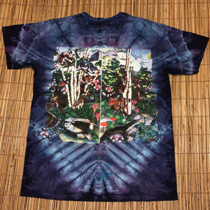 XL - Vintage 2–Sided Tie-Dye Rare Nature Shirt