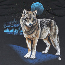Load image into Gallery viewer, M/L - Vintage 1989 Wolf Moon Shirt