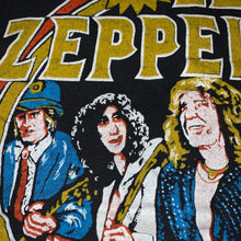 Load image into Gallery viewer, S/M(See Measurements) - Vintage 1980s Led Zeppelin Band Shirt