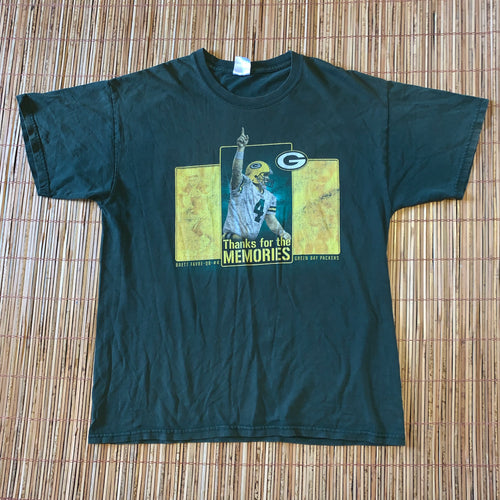 L - Brett Favre Double Sided Shirt
