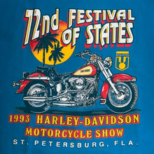 Load image into Gallery viewer, XL - Vintage 1993 Harley Davidson Motorcycle Show Shirt