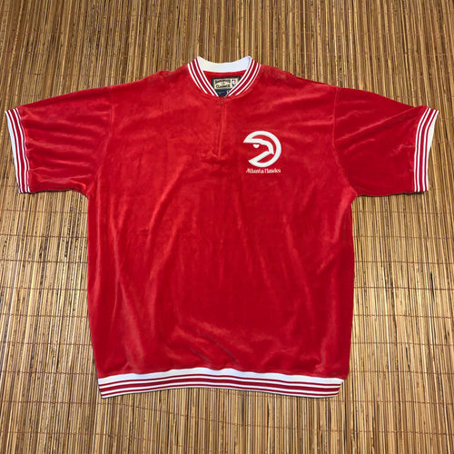 3XL - Atlanta Hawks Soft Fleece Carl Banks Shirt