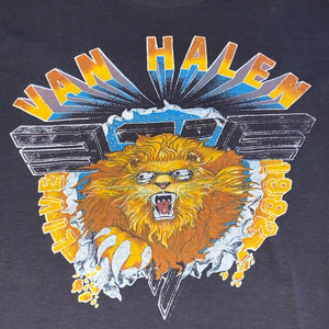 S/M - Vintage 1982 Van Halen Hide Your Sheep Live Tour Shirt