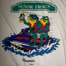 Load image into Gallery viewer, XL - Vintage Senor Frogs Corona Mexico Shirt