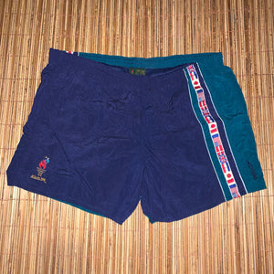 40 Inches - Vintage Atlanta 1996 Olympics Swim Trunks