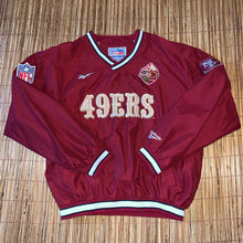 Load image into Gallery viewer, L - Vintage 90s 49ers Fleece Lined Reebok Jacket