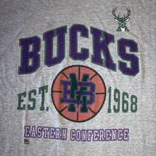 Load image into Gallery viewer, XL(Fits Big-See Measurements) - Vintage 90s Milwaukee Bucks Shirt