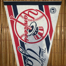 Load image into Gallery viewer, Vintage Yankees Pennant