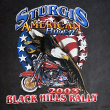 Load image into Gallery viewer, L/XL - Sturgis Black Hills Rally 2005 Biker Shirt