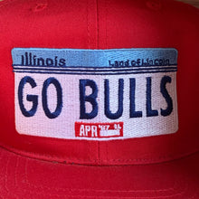 Load image into Gallery viewer, Vintage 1987 Chicago Bulls Hat