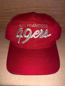 Vintage San Francisco 49ers Sports Specialties Hat