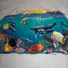 Load image into Gallery viewer, L - Vintage 1992 2-Sided Aquatic Habitat Shirt