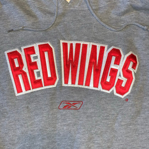 L(Fits XL) - Detroit Red Wings Hockey Hoodie