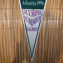 Load image into Gallery viewer, Vintage Atlanta 1996 Olympic Games Pennant