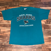 Load image into Gallery viewer, XL - Vintage San Jose Sharks NHL Shirt
