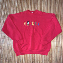 Load image into Gallery viewer, XL - Vintage Embroidered Mickey Mouse Sweater