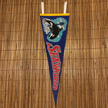 Load image into Gallery viewer, Vintage 1978 Sea World Pennant
