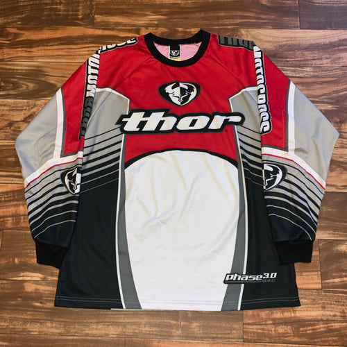 L/XL - Thor Phase 3.0 Motocross Racing Jersey
