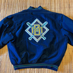 XL - Vintage RARE Brewers Diamond Collection Starter Jacket