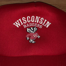 Load image into Gallery viewer, Vintage Wisconsin Badgers Hat