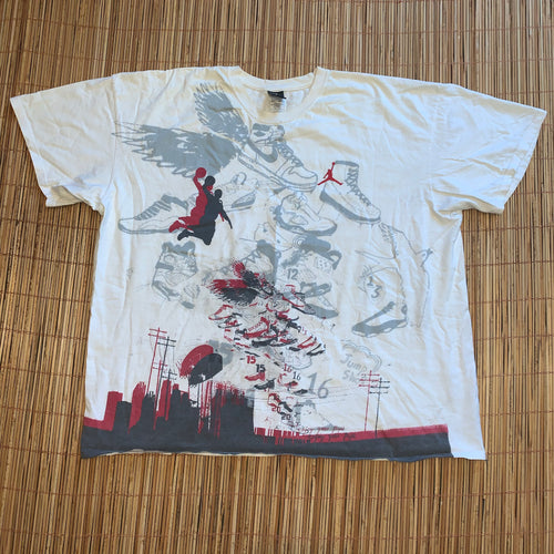 3XL - Air Jordan All Over Print Shirt