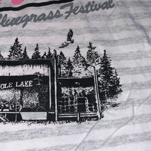 Load image into Gallery viewer, XL - Vintage 1991 Mole Lake Wisconsin Northern Bluegrass Music Festival Shirt