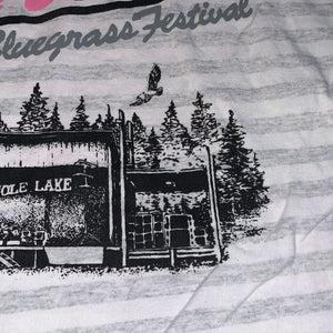 XL - Vintage 1991 Mole Lake Wisconsin Northern Bluegrass Music Festival Shirt