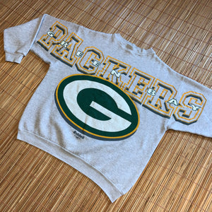 XL - Vintage 1996 Green Bay Packers Spellout Crewneck