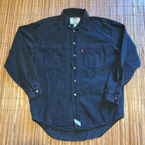 M/L - Vintage Levi's Denim Button Up Shirt