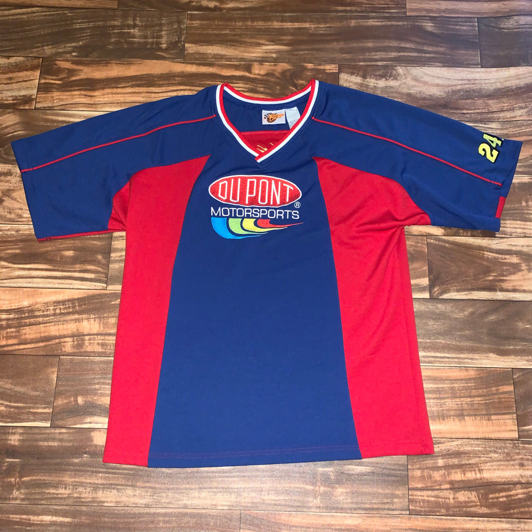 L - Jeff Gordon DuPont Mesh Shirt