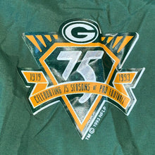 Load image into Gallery viewer, L - Vintage Green Bay Packers 75th Anniversary Jacket