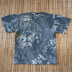 S - Vintage Wolf Camo Nature Shirt