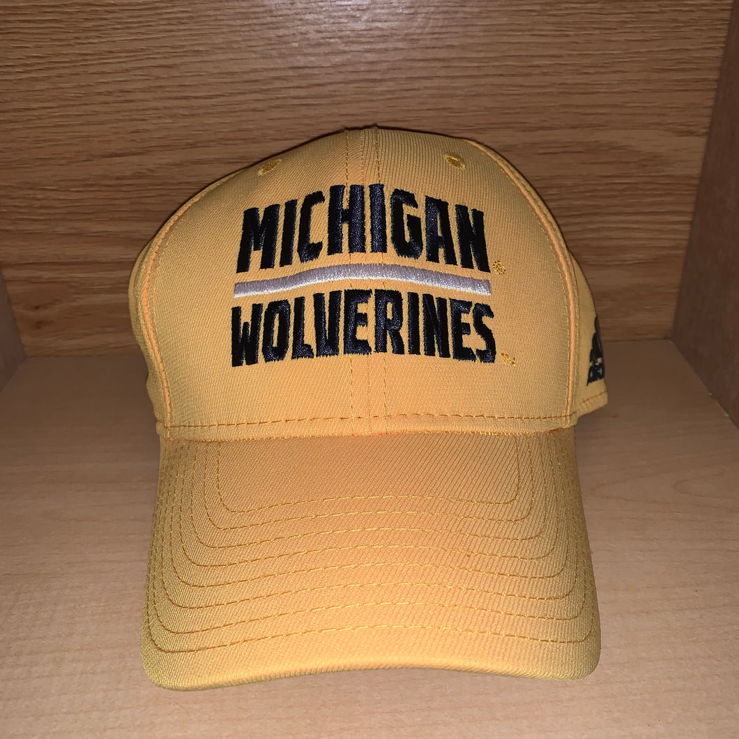 S/M - Michigan Wolverines Fitted Adidas Hat