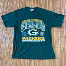 Load image into Gallery viewer, L - Vintage 90s Packers NFC Champs Shirt