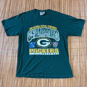 L - Vintage 90s Packers NFC Champs Shirt