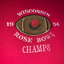 Load image into Gallery viewer, M - Vintage 1994 Wisconsin Badgers Rose Bowl Crewneck