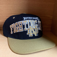 Load image into Gallery viewer, Vintage 90s Notre Dame Fighting Irish Hat