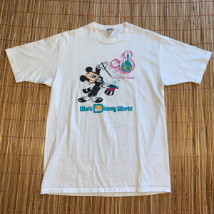 L - Vintage 1991 Mickey Mouse Walt Disney World Shirt